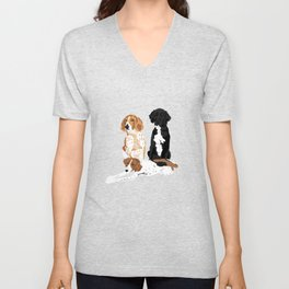 Elvis, Judd and Glory Bea Unisex V-Neck