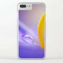 Iris Drops Clear iPhone Case