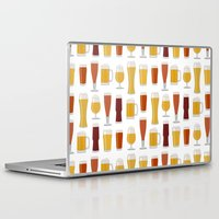 beer Laptop & iPad Skins featuring Beer  by Cute to Boot