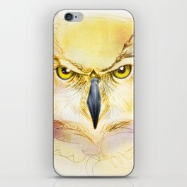 Angry Owl iPhone Skin