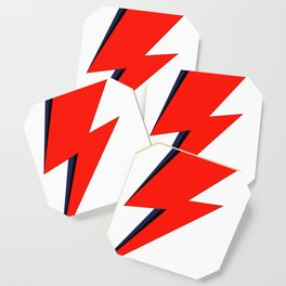 Red Bowie David Lightning Bolt Coaster