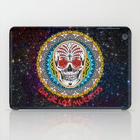 day of the dead iPad Cases featuring Day of the Dead by Gary Grayson