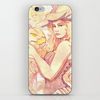 witchcraft iPhone & iPod Skins featuring Witchcraft by Souzou Inc