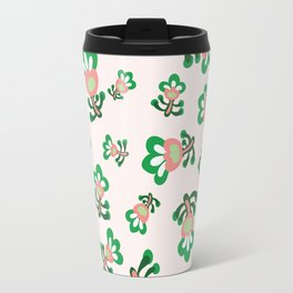 Cabbage Hearts Packed Travel Mug