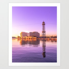 World Trade Center Barcelona Art Print