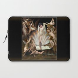 Bouguereau's Angels Surround Cupid Laptop Sleeve