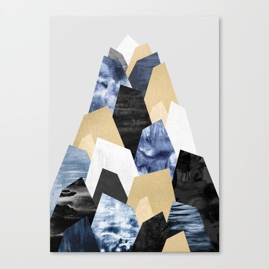 Rock Formations Canvas Print