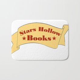 Stars Hollow Books Bath Mat