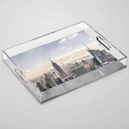 NYC Skyline Acrylic Tray