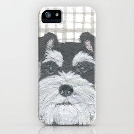 Schnauzer, DOG iPhone Case