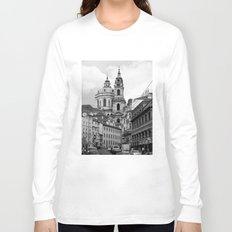 Prague - Czech Republic - BW Long Sleeve T-shirt