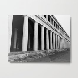 Ancient Agora Metal Print