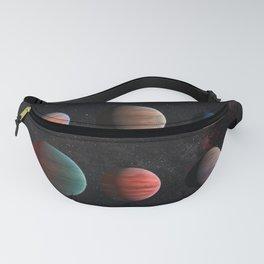 Planets : Hot Jupiter Exoplanets Fanny Pack