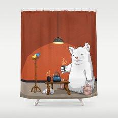 Tea for Three Shower Curtain