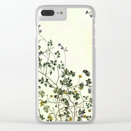 The wilderness continues. Clear iPhone Case