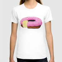 donut T-shirts featuring Donut by Melissa Romulus