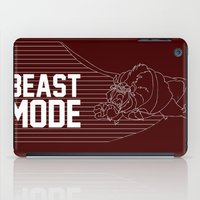 depeche mode iPad Cases featuring Beast Mode by Elizabeth Kidder
