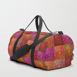 RED JELLY BLUES Duffle Bag