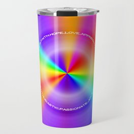 WeAreOneLove Travel Mug