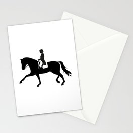 Dressage Rider Stationery Cards