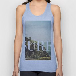 I want to go surfing Unisex Tank Top