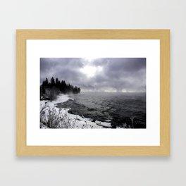 Stony Point Framed Art Print