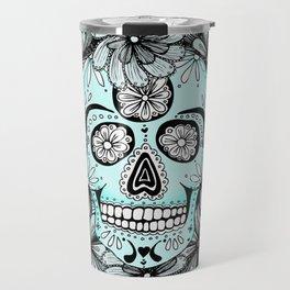 Blue Sugar Travel Mug