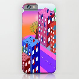 Abstract Urban By Day iPhone Case