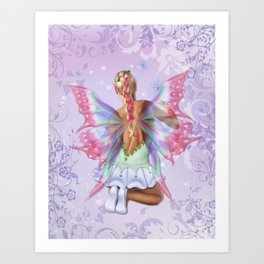 Make a Wish Fairy Art Print