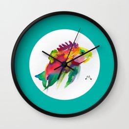 Watercolor 3 Wall Clock