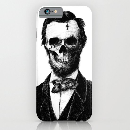 Abraham Lincoln iPhone & iPod Case
