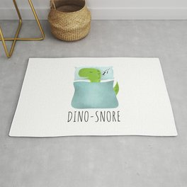 Dino-Snore Rug