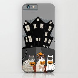 The Trick or Treat Kitties iPhone Case