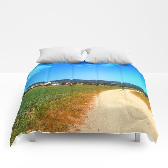 Another lonely hiking trail Comforters