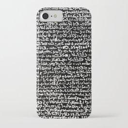 Rosetta Stone iPhone Case