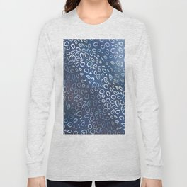 spotted eagle ray skin Long Sleeve T-shirt