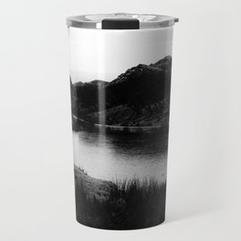Fairy Glen, Isle of Skye, B/W Travel Mug