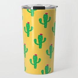 Pattern #13 B: Cactus Travel Mug