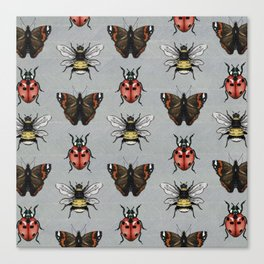 Little Beasties Canvas Print