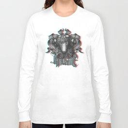 Mystical Aries anaglyph 3D Long Sleeve T-shirt