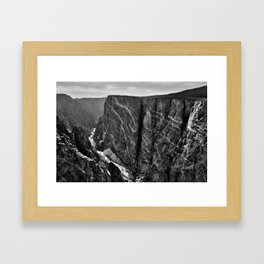 Painted Wall Framed Art Print