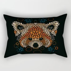 Red Panda Face Rectangular Pillow