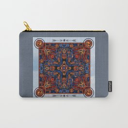 Shining Winter Nights Kaleidoscope  Carry-All Pouch