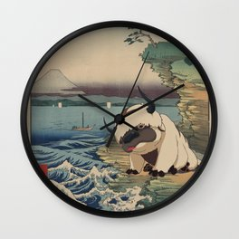 Boushū hota no kaigan Appa Wall Clock
