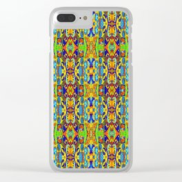 PATTERN-422 Clear iPhone Case