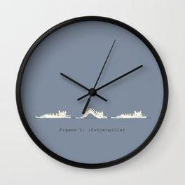 (Cat)erpillar Wall Clock