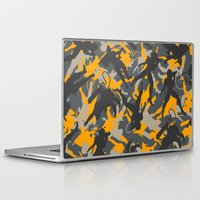 metal gear solid Laptop & iPad Skins featuring Metal Gear Rising Revengeance (V2) by ASHPLUS
