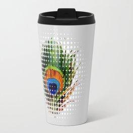 PEEKING PEACOCK Travel Mug