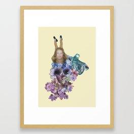 Fit Girl 005 Framed Art Print