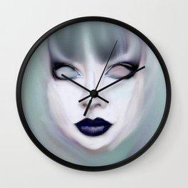 Pastel Goth Wall Clock
